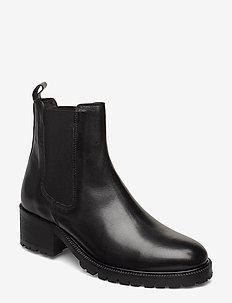 Boots 83730 - ankelstøvler med hæl - black calf 80