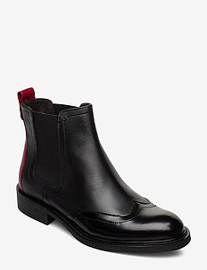 Boots 85855 - BL. POLIDO/RED STRIPE 959
