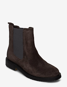 BOOTS - chelsea boots - grey iman babysilk suede 553