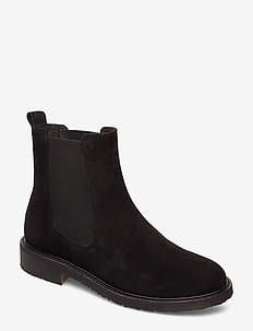 BOOTS - chelsea boots - black suede 50