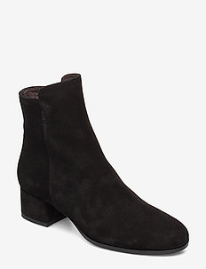Booties 95500 - BLACK SUEDE 500