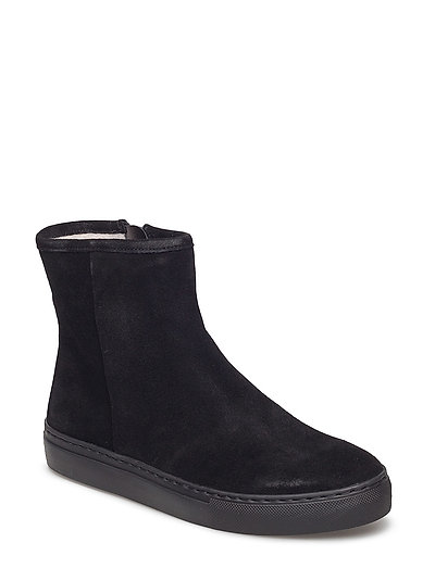 BOOTS - BLACK SUEDE/BLACK SOLE 500