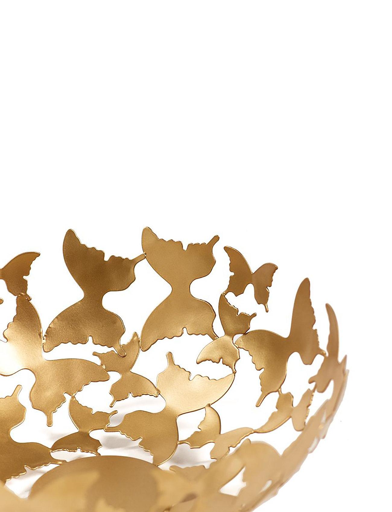 Carolina Gynning - Bowl Butterfly mässing - hedelmäkulhot - gold - 1