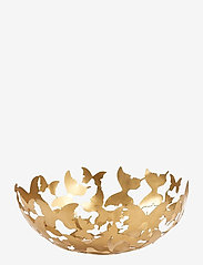 Carolina Gynning - Bowl Butterfly mässing - hedelmäkulhot - gold - 0