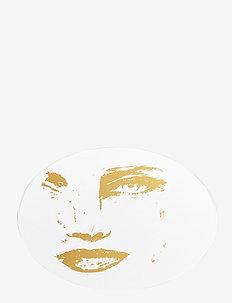 Pot Coaster Pice of me - bordbrikker, glassunderlag & bordskånere - white/gold