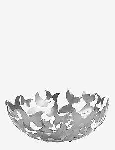 Bowl Butterfly silver - hedelmäkulhot - silver