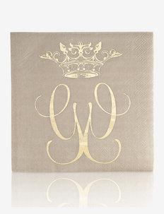 Royal napkin 20-pack - servietter - beige