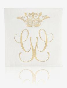 Royal napkin 20-pack - servietter - white