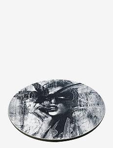 Pot Coaster Looking for you - bordbrikker, glassunderlag & bordskånere - black/white