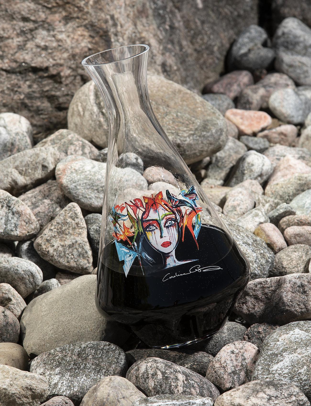 Carolina Gynning - Slice of Life - viinikarahvit - clear with decal - 1