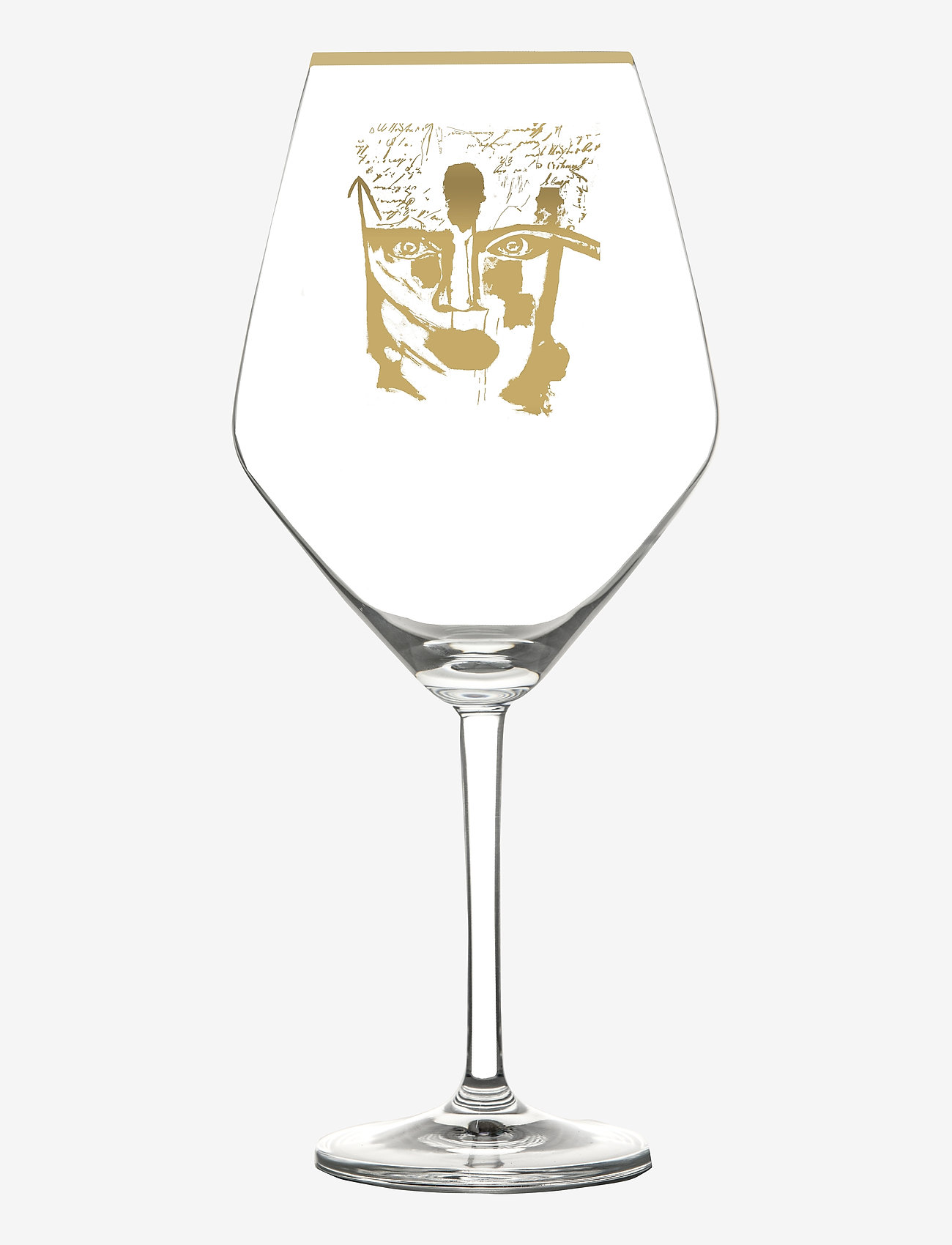 Carolina Gynning - Golden Dream Gold - vinglass - clear with decal - 0