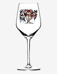 Carolina Gynning - Slice of Life - vinglass - clear with decal - 0