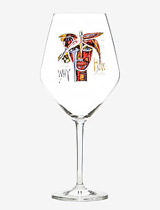 Butterfly Mess. IV - vinglass - clear with decal