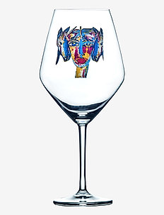 Feeling Magic - vinglass - clear with decal