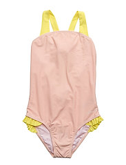 SWIMMING COSTUME - PINK  PALE