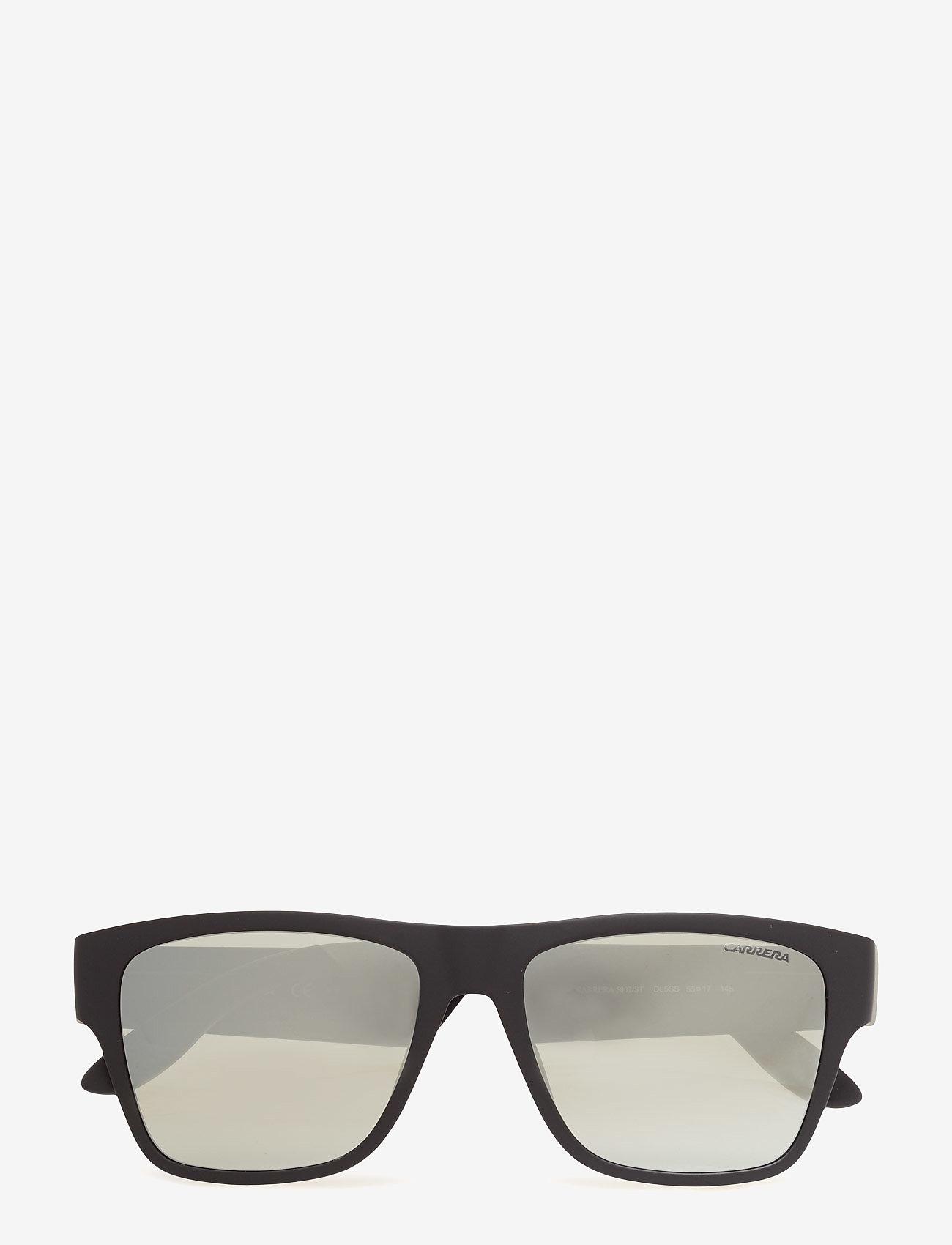 Carrera - CARRERA 5002/ST - okulary przeciwsłoneczne w kształcie litery d - mtt black grey - 0