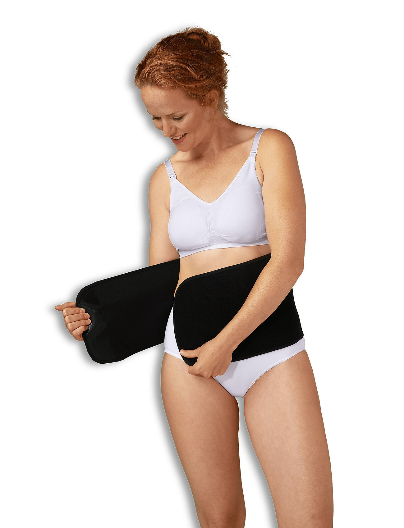 Carriwell - Post Birth Belly Binder - tops - black - 0