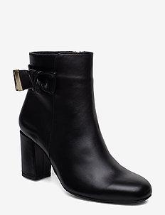 RHONA - ankelstøvletter med hæl - black