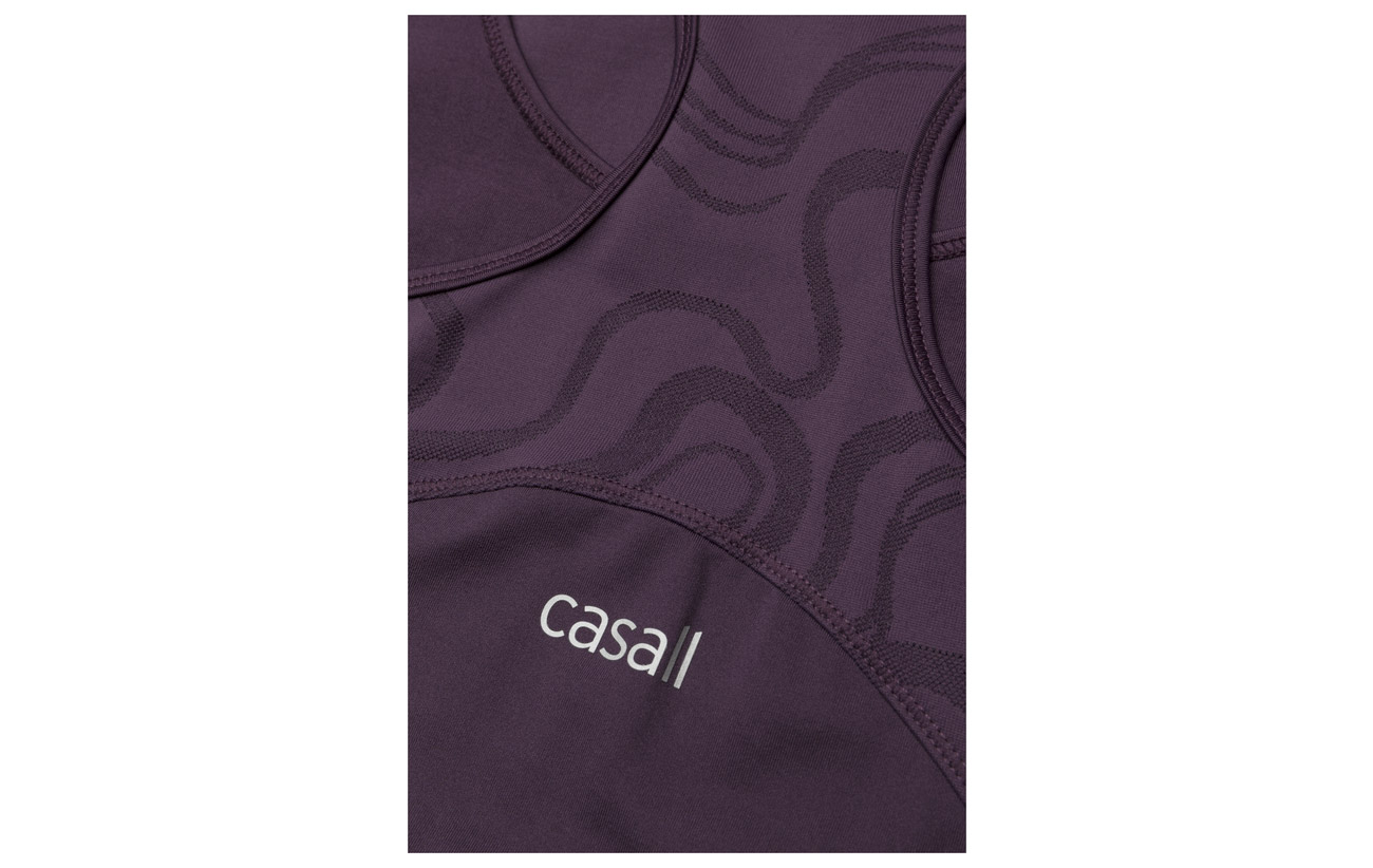 Casall M2 Purple Swirl Elastane 13 Racerback Polyamide Pulse 87 160g xrrzdFt