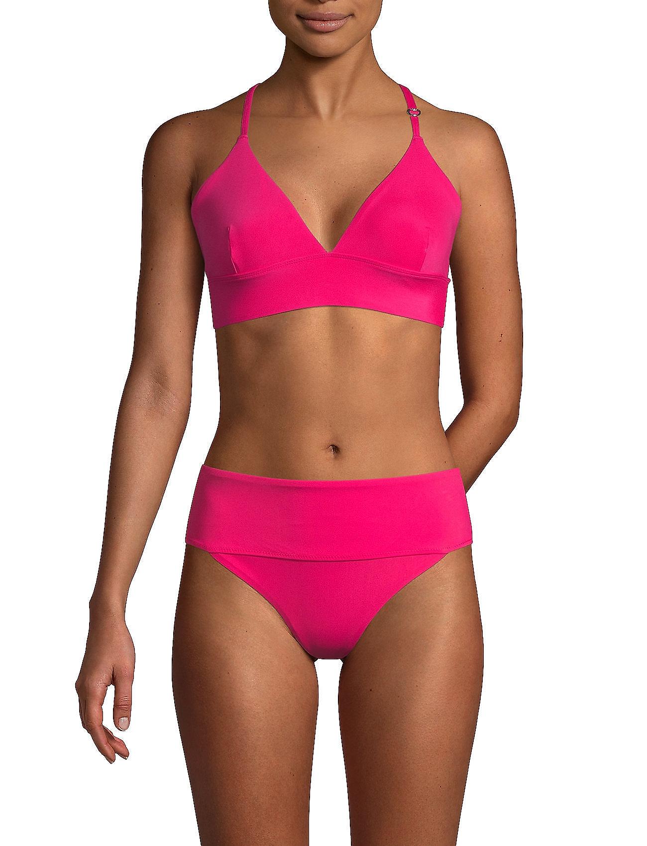 Casall - Iconic Bikini Top - bikinitoppar - lt vivid pink - 0