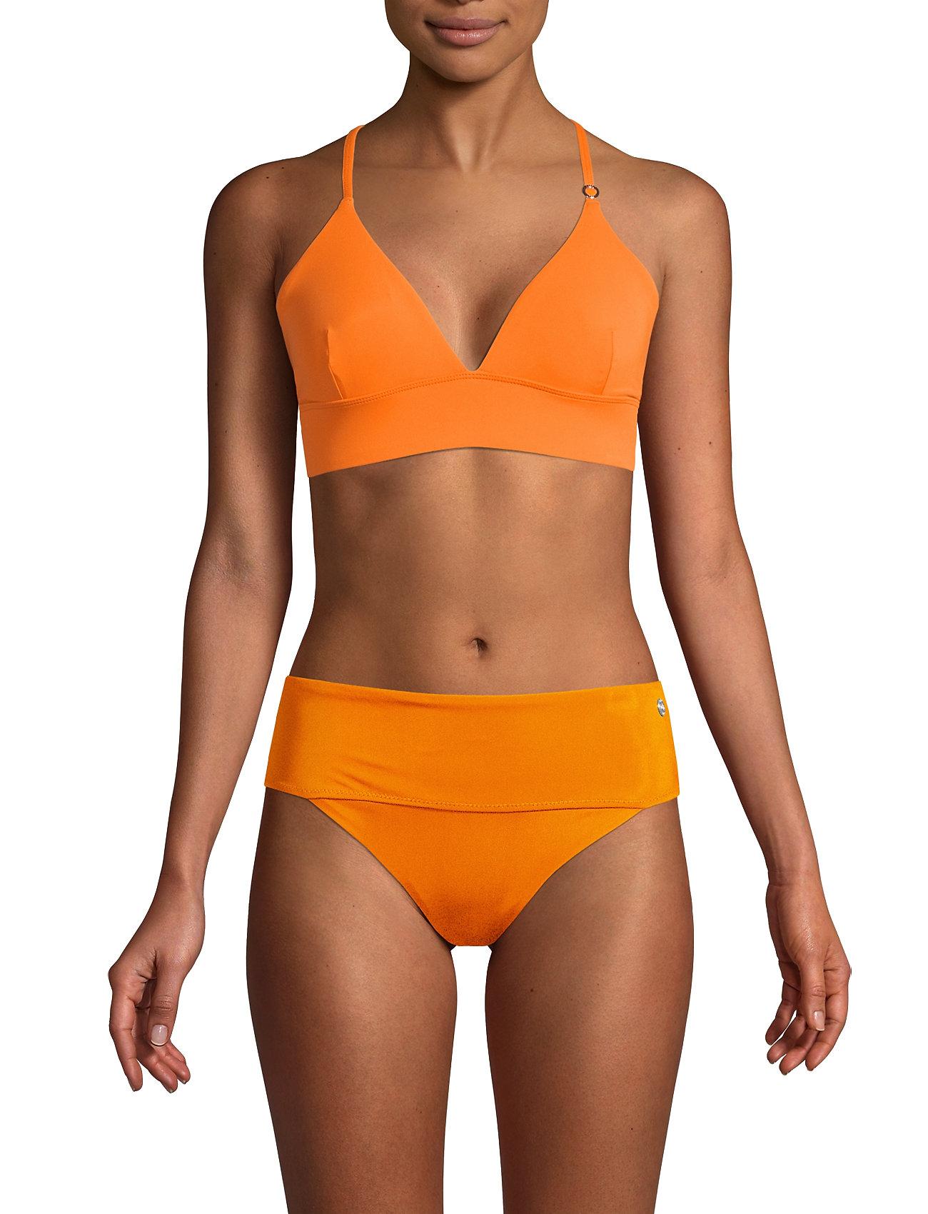 Casall - Iconic Bikini Top - bikinitoppar - striking orange - 0