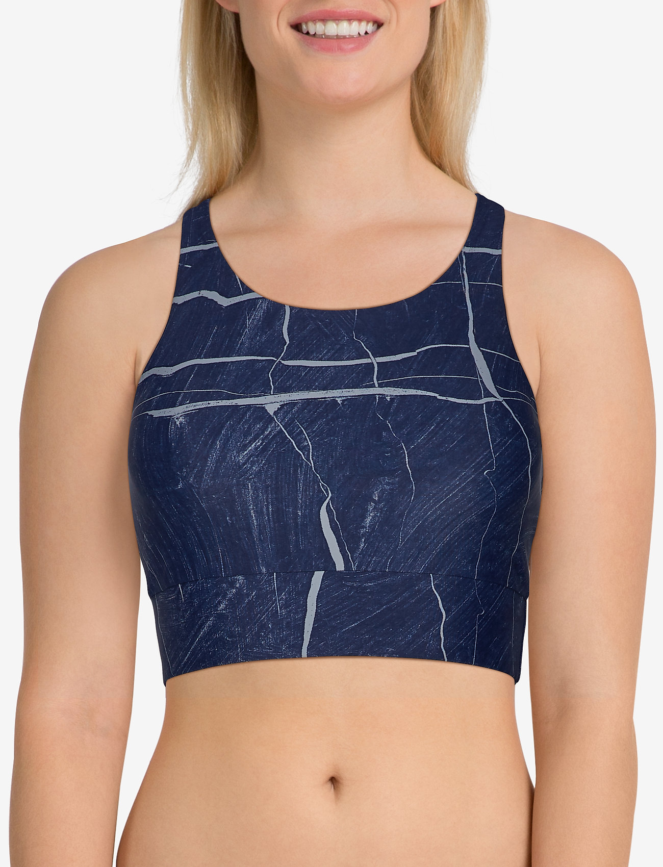 Casall Concious Connected Sports Top - CONNECTED BLUE