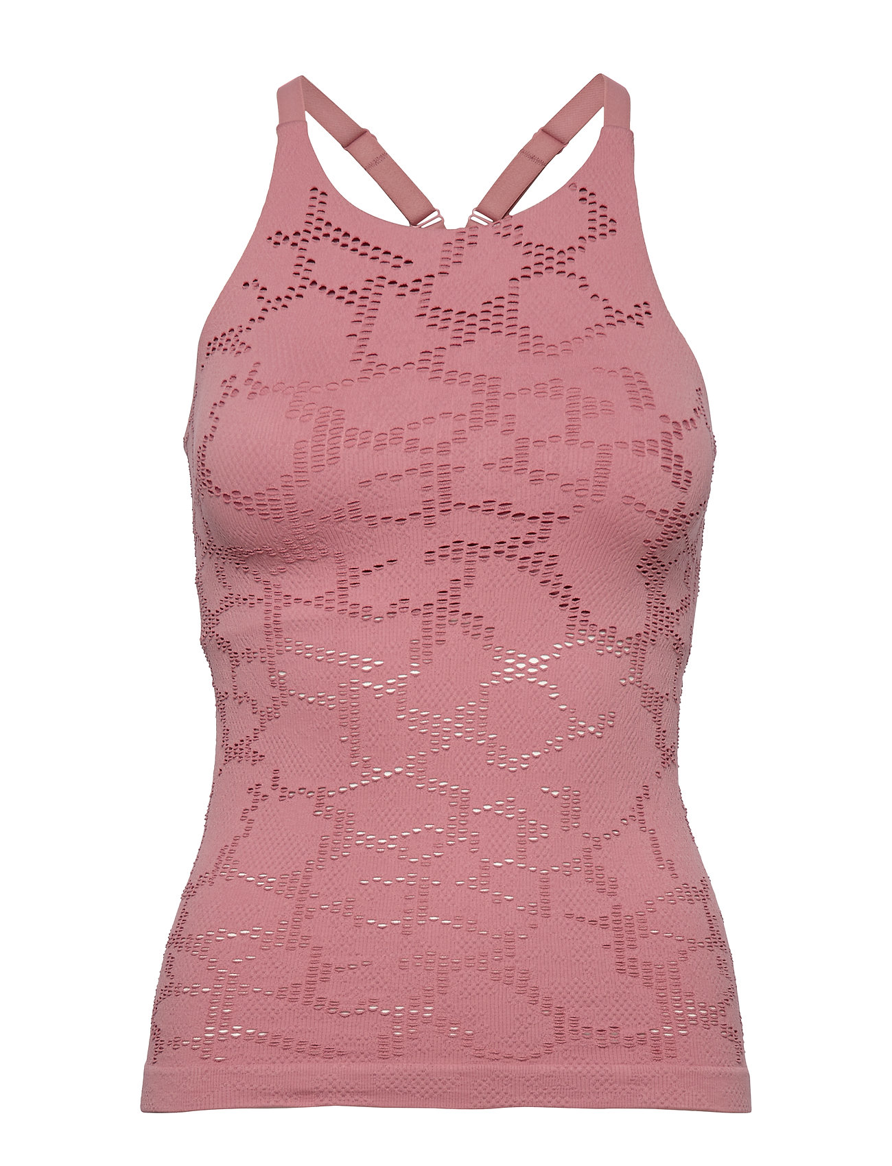 Casall Seamless Structure Strap Tank - CALMING RED