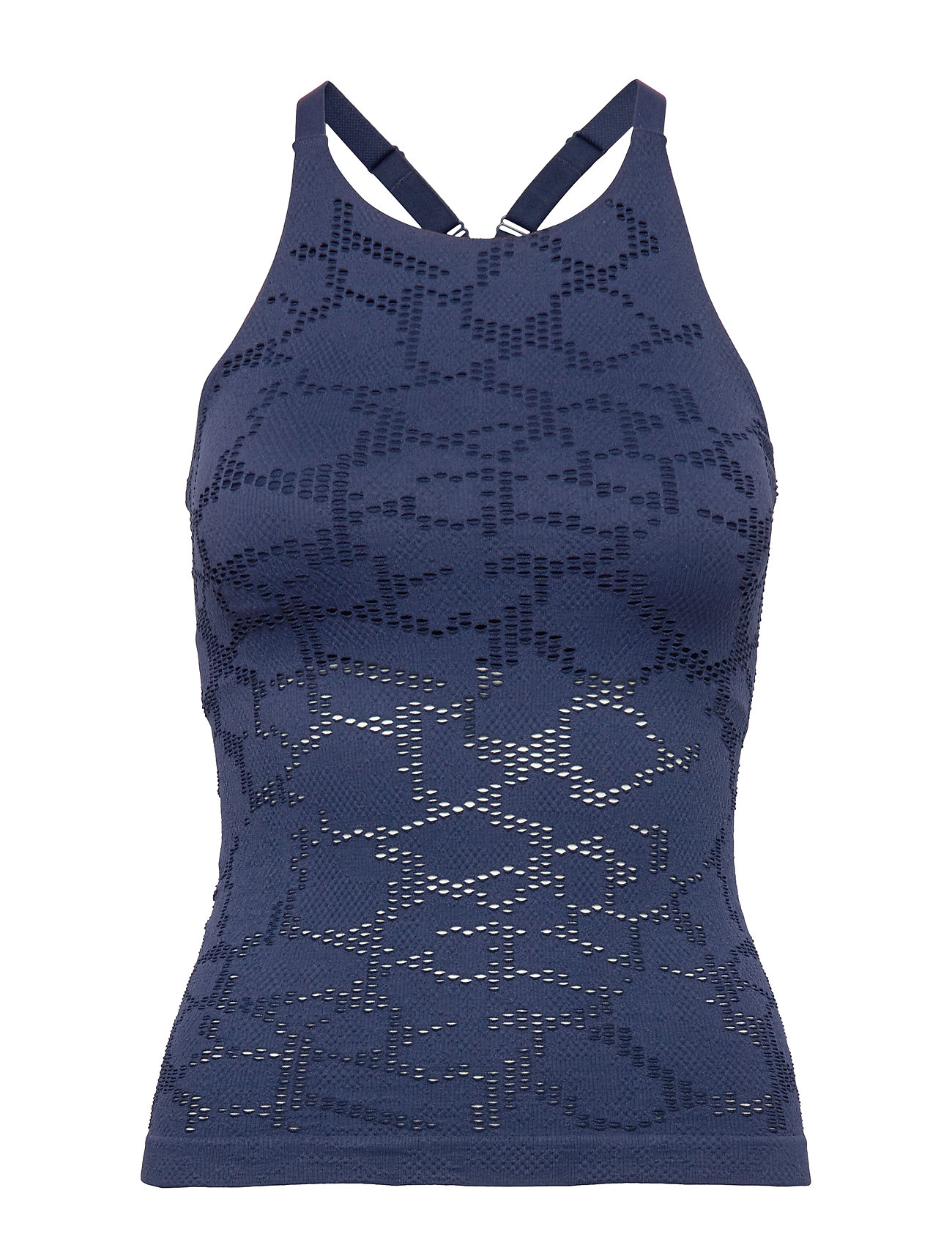 Casall Seamless Structure Strap Tank - PUSHING BLUE