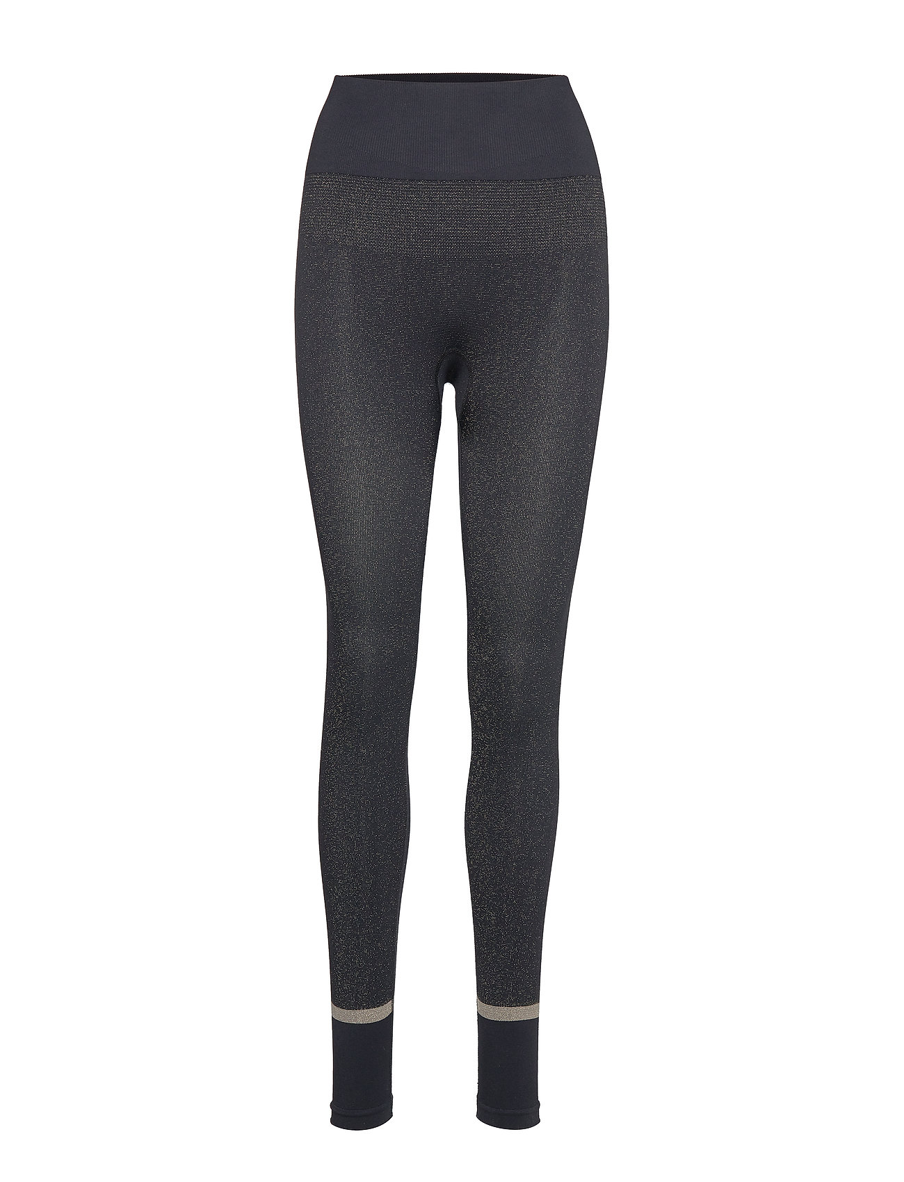 Casall Gold Seamless Tights - BLACK GOLD