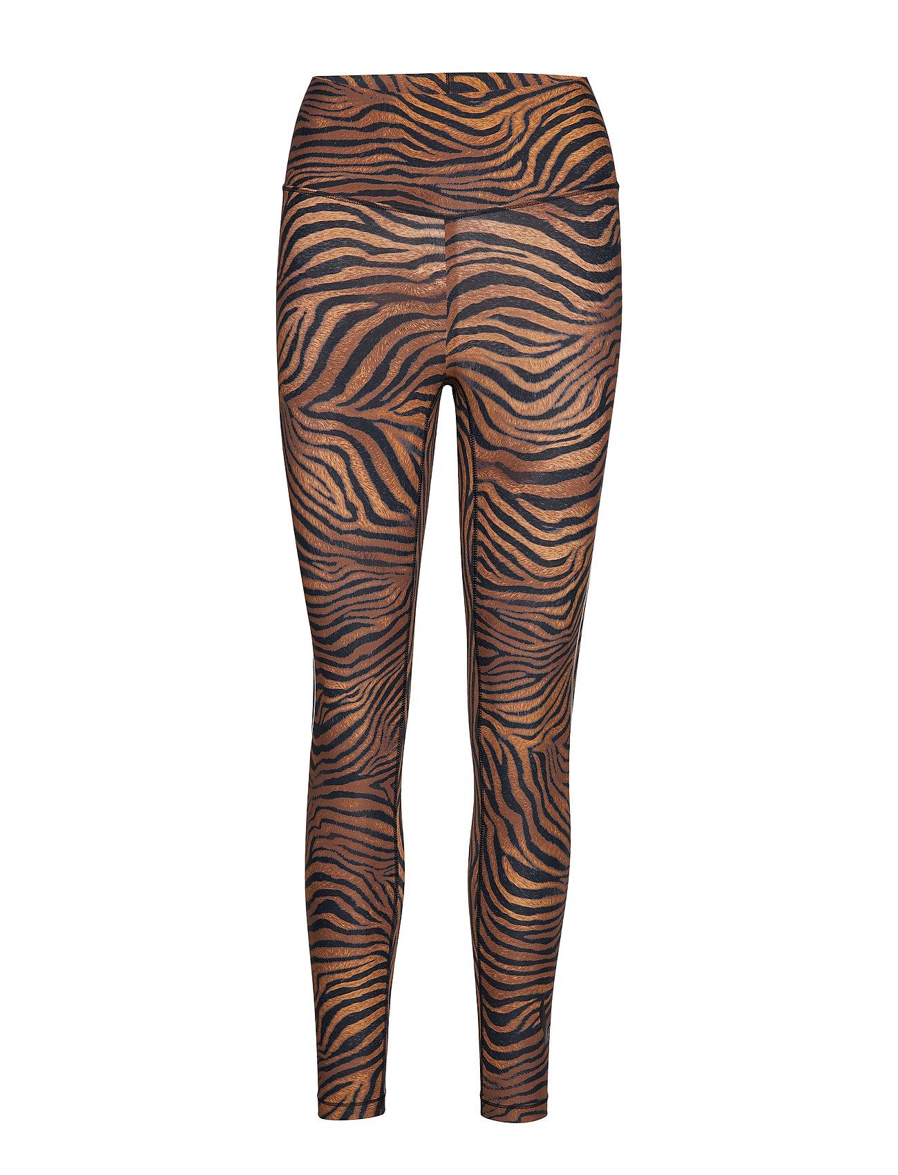 Casall Sculpture Heritage Tiger Tights - HERITAGE TIGER