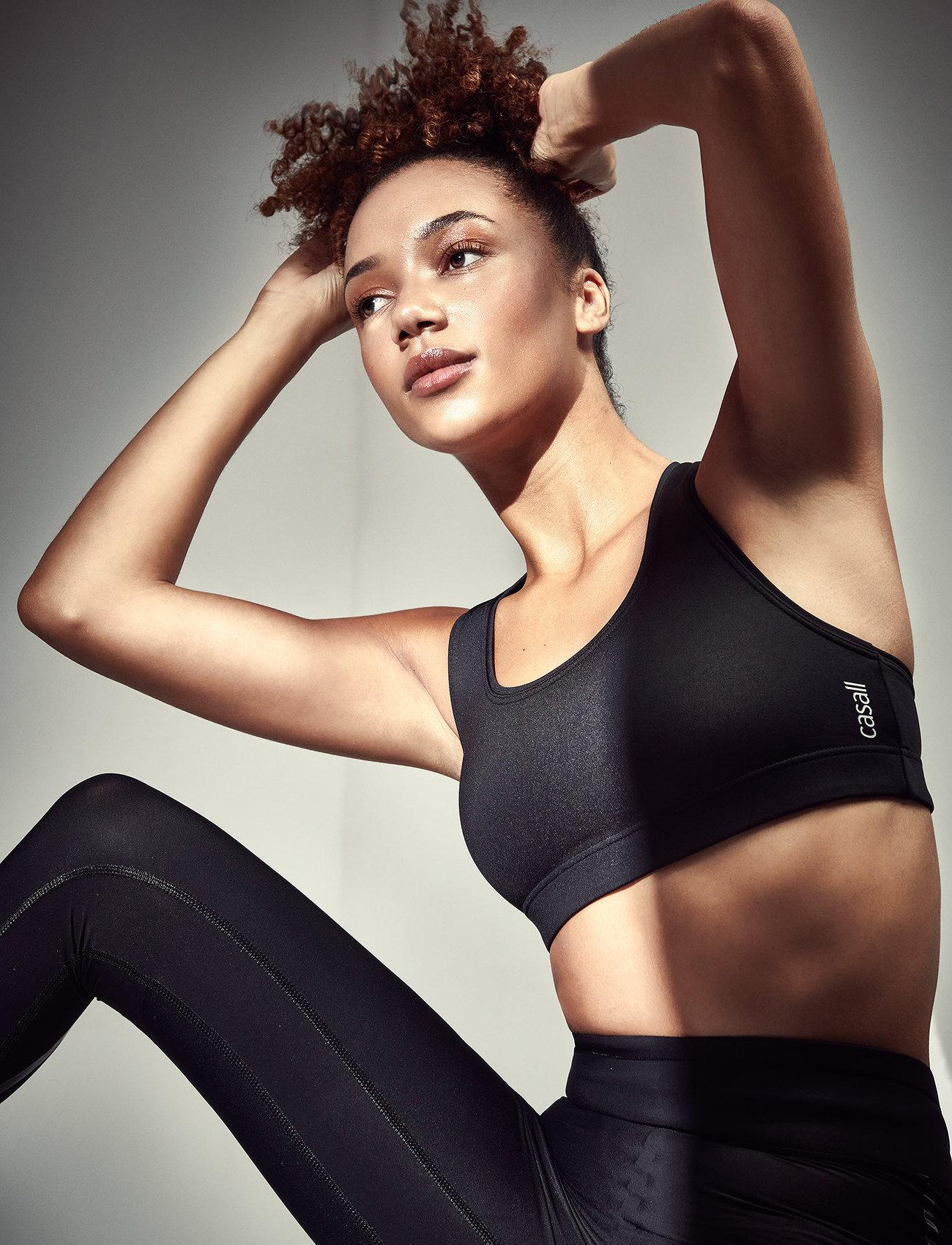 Casall - Iconic Sports Bra - sport-bh: medium - black - 0