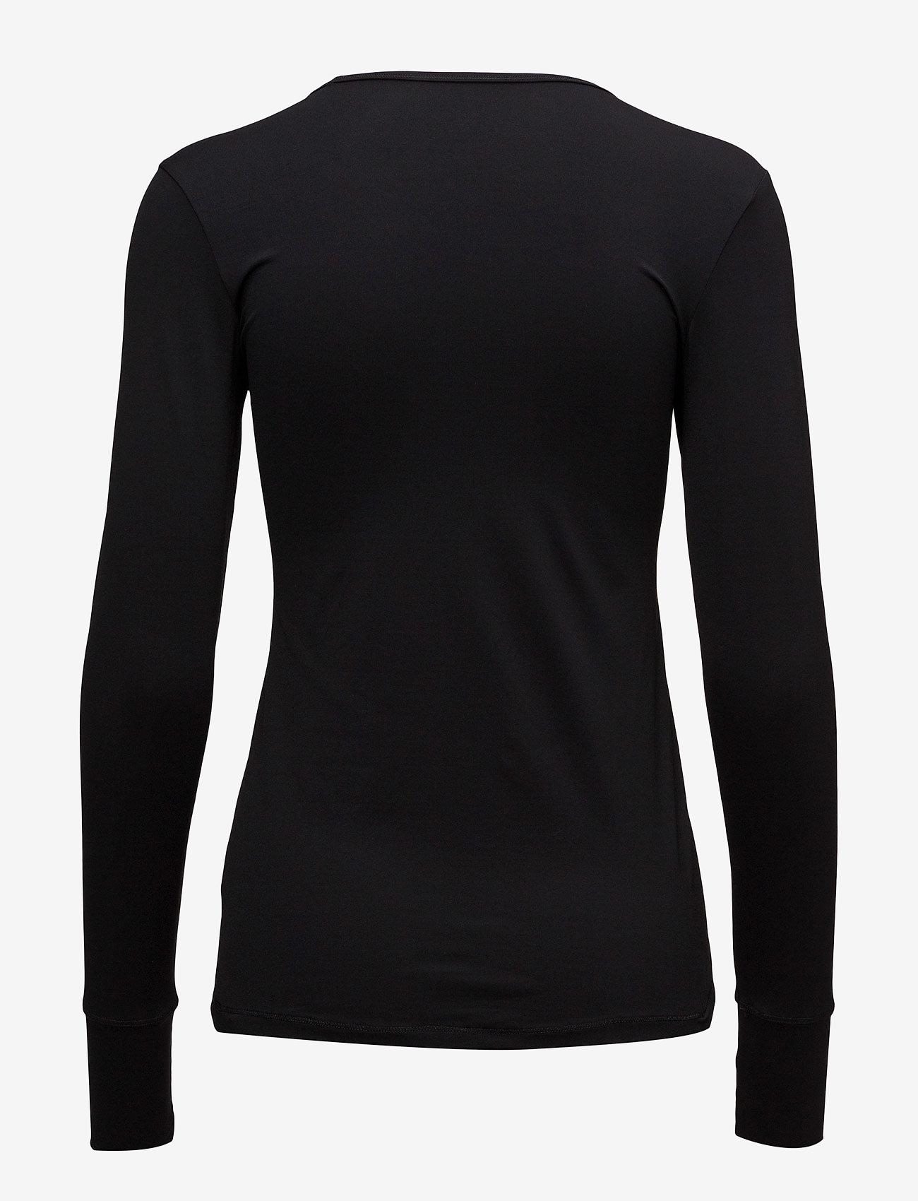 Casall - Essential long sleeve - bluzki z długim rękawem - black - 1