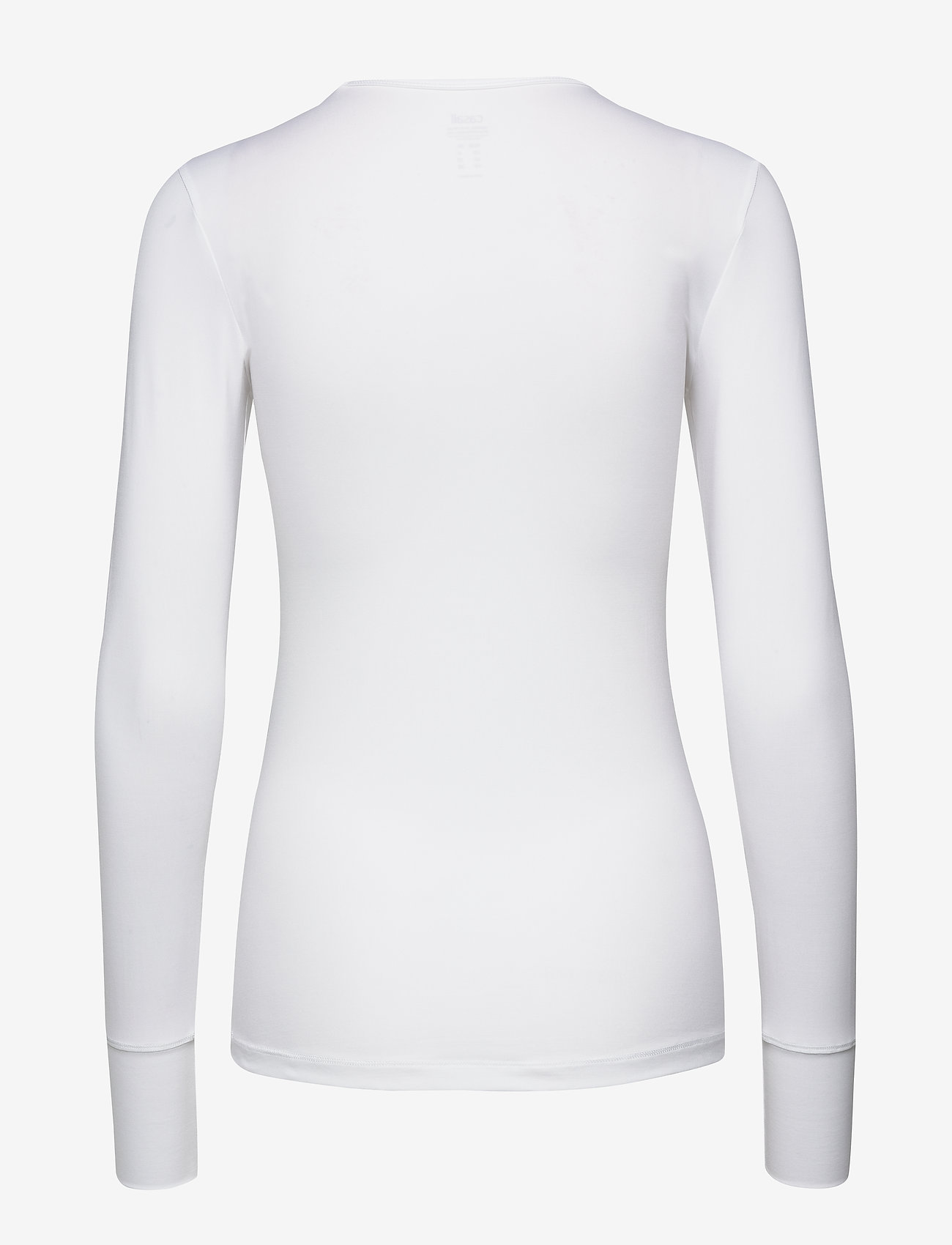 Casall - Essential long sleeve - t-shirty - white - 1