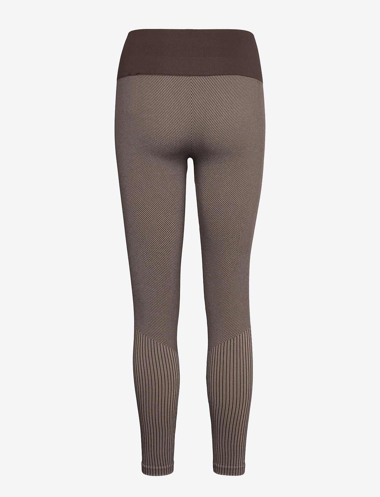 Casall - Seamless tights - running & training tights - berlin brown - 1