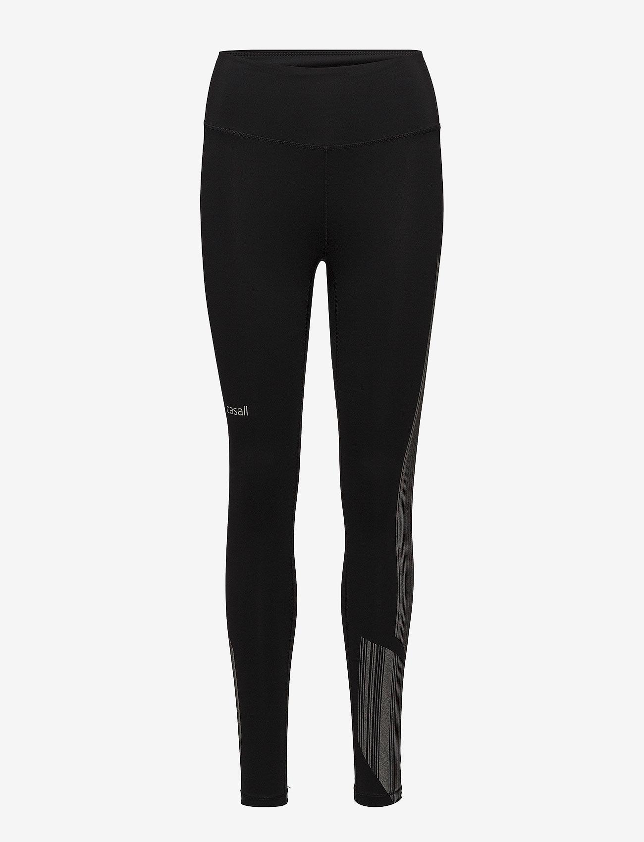 Casall Winner tights - Leginsy BLACK - Kobiety Odzież.