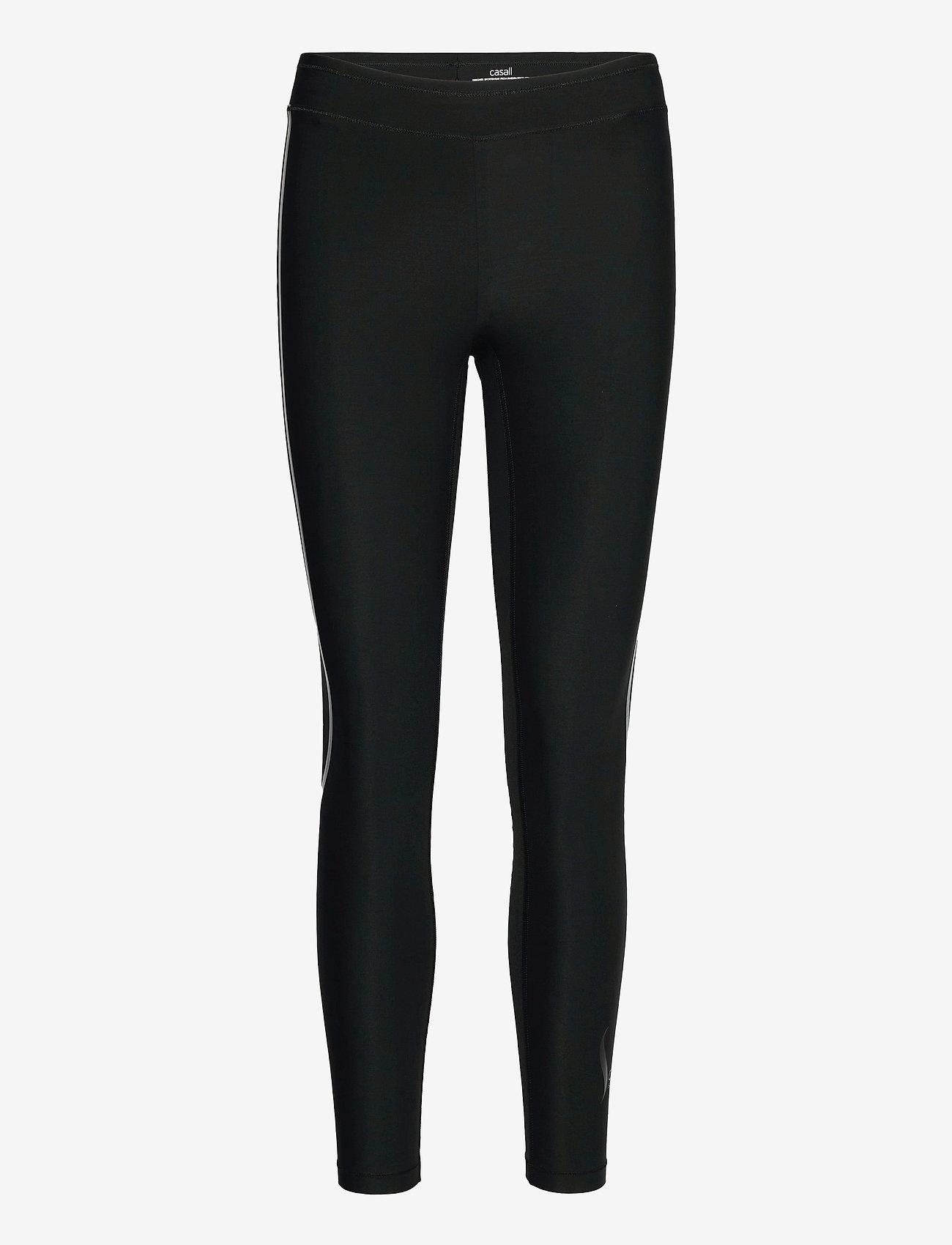 Casall - Sculpture Tights - running & training tights - liquid black - 0