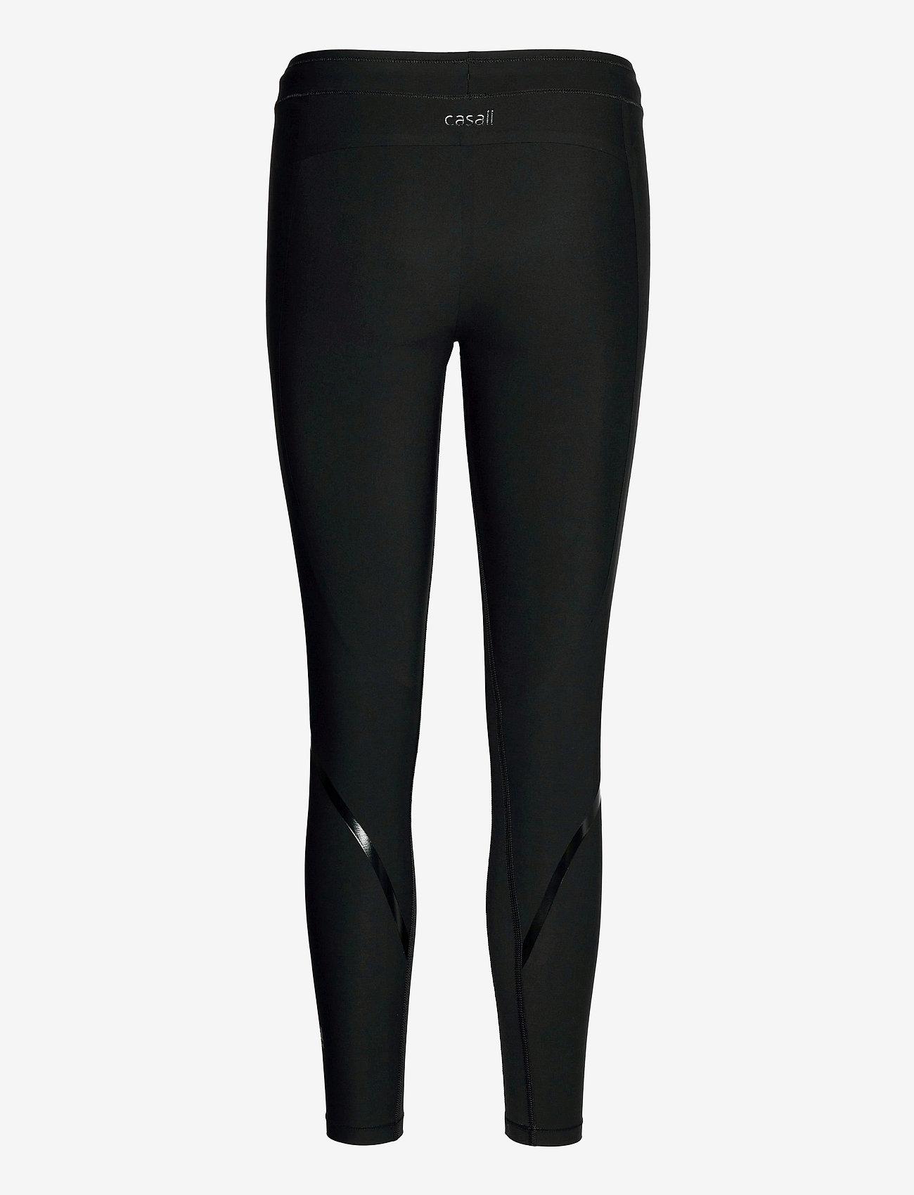 Casall - Sculpture Tights - running & training tights - liquid black - 1
