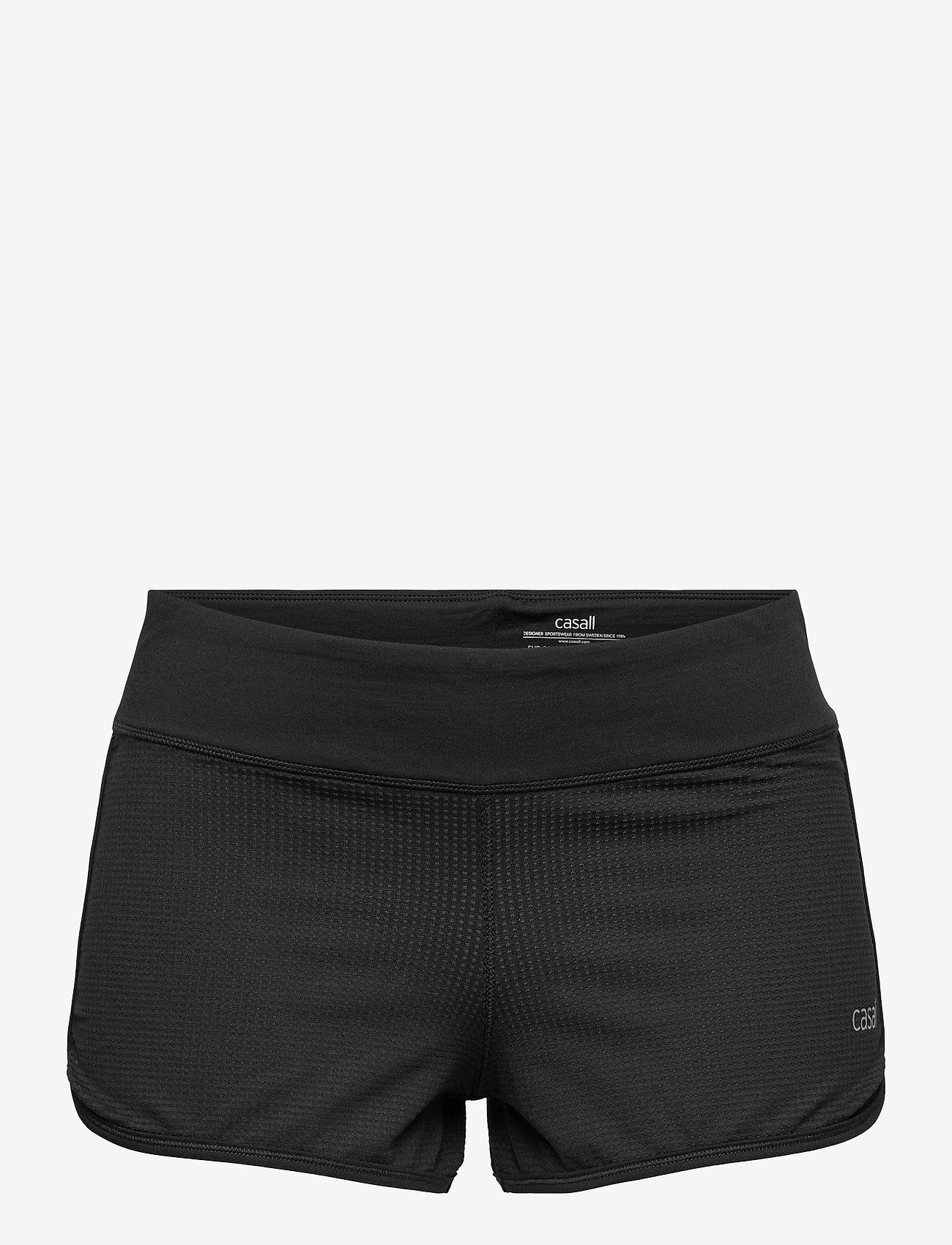 Casall - Iconic Shorts - spodenki treningowe - black - 0