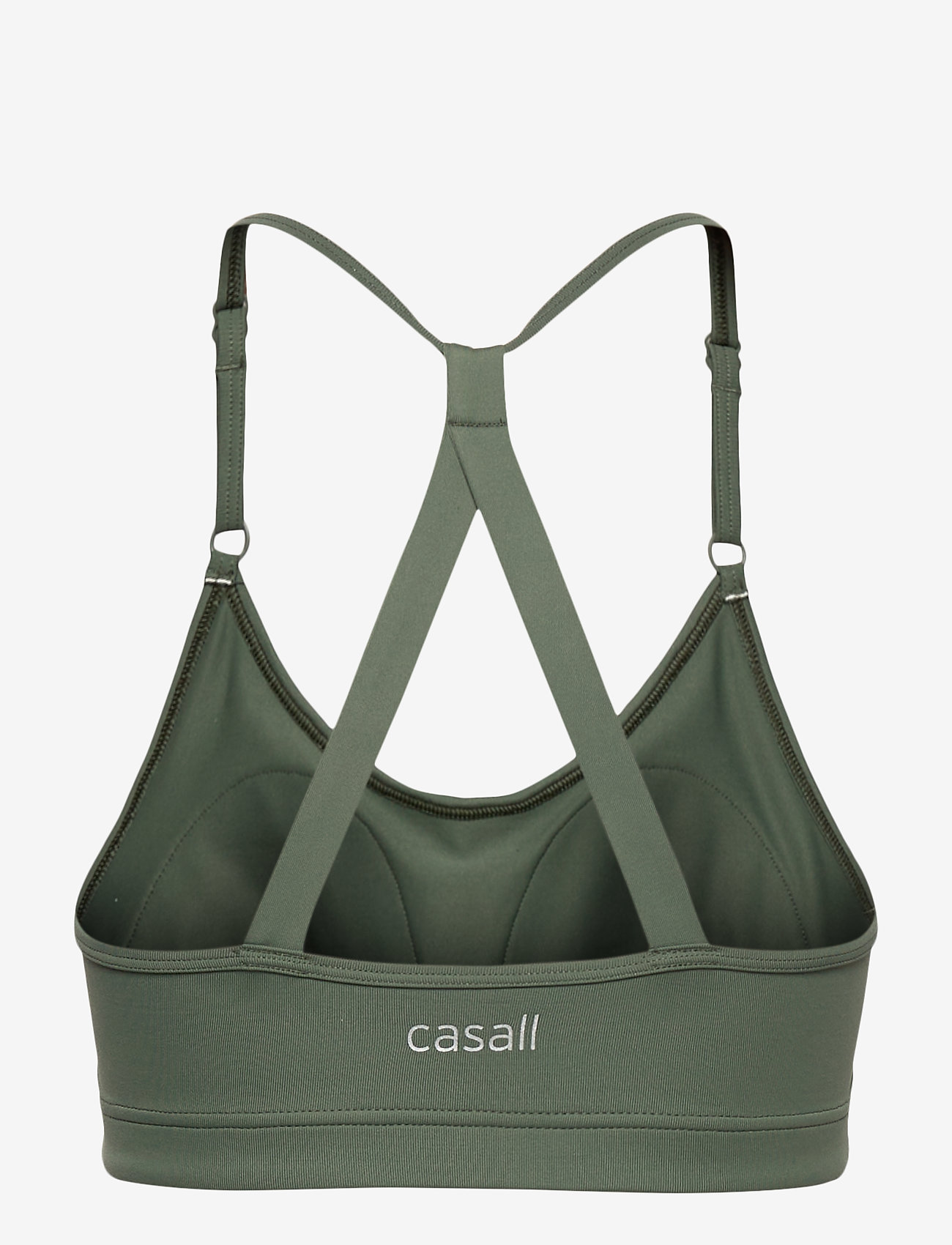 Casall - Strappy Sports Bra - biustonosze sportowe: średnie - northern green - 1
