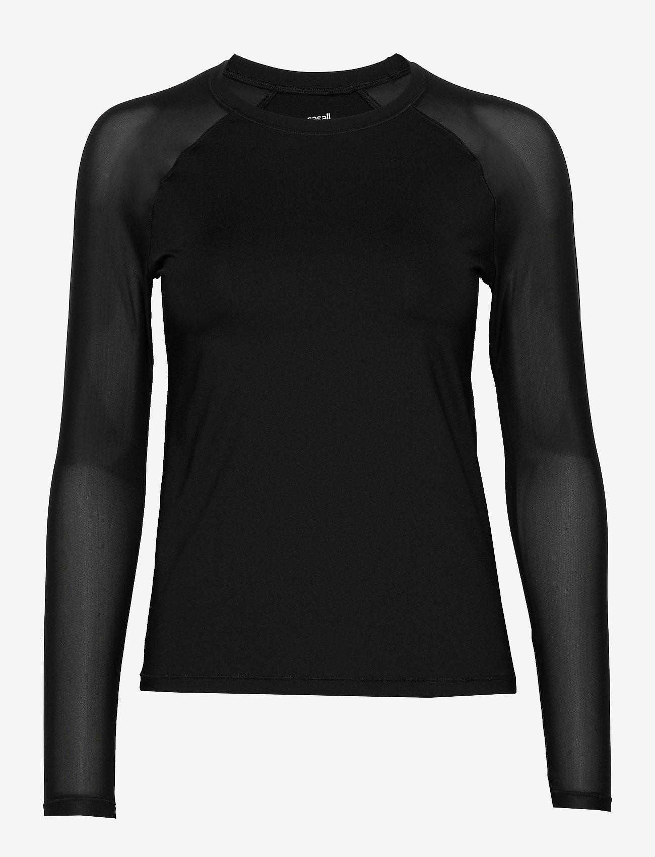Casall - Energy Long Sleeve - bluzki z długim rękawem - black - 0