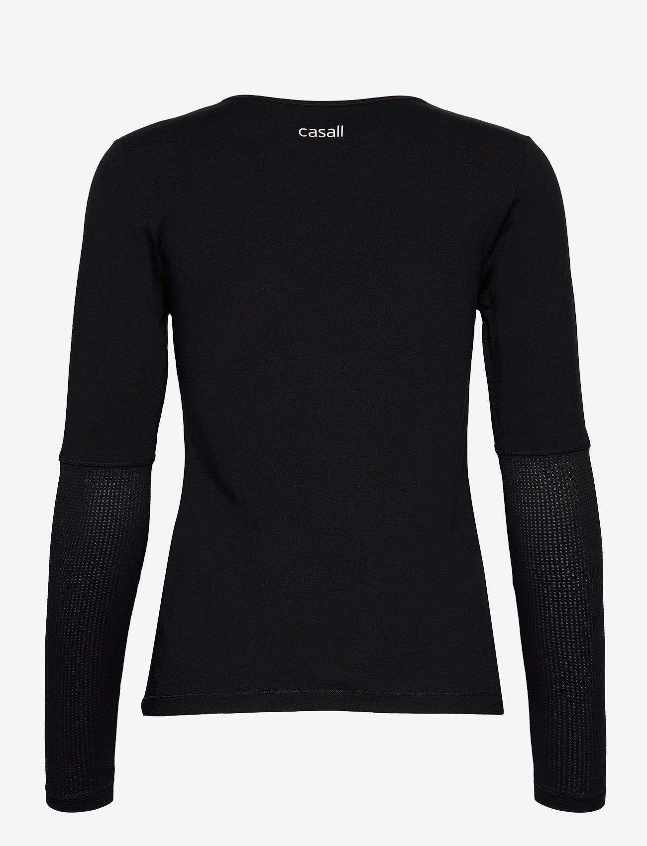 Casall - Iconic Long Sleeve - topjes met lange mouwen - black - 1