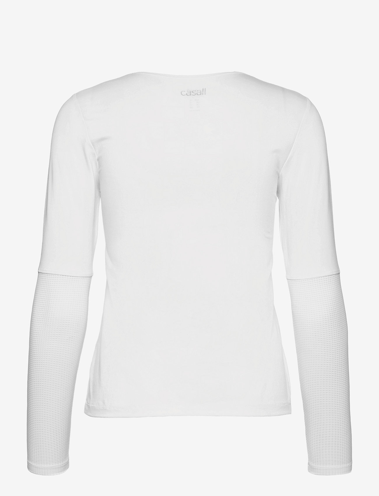 Casall - Iconic Long Sleeve - langærmede toppe - white - 1