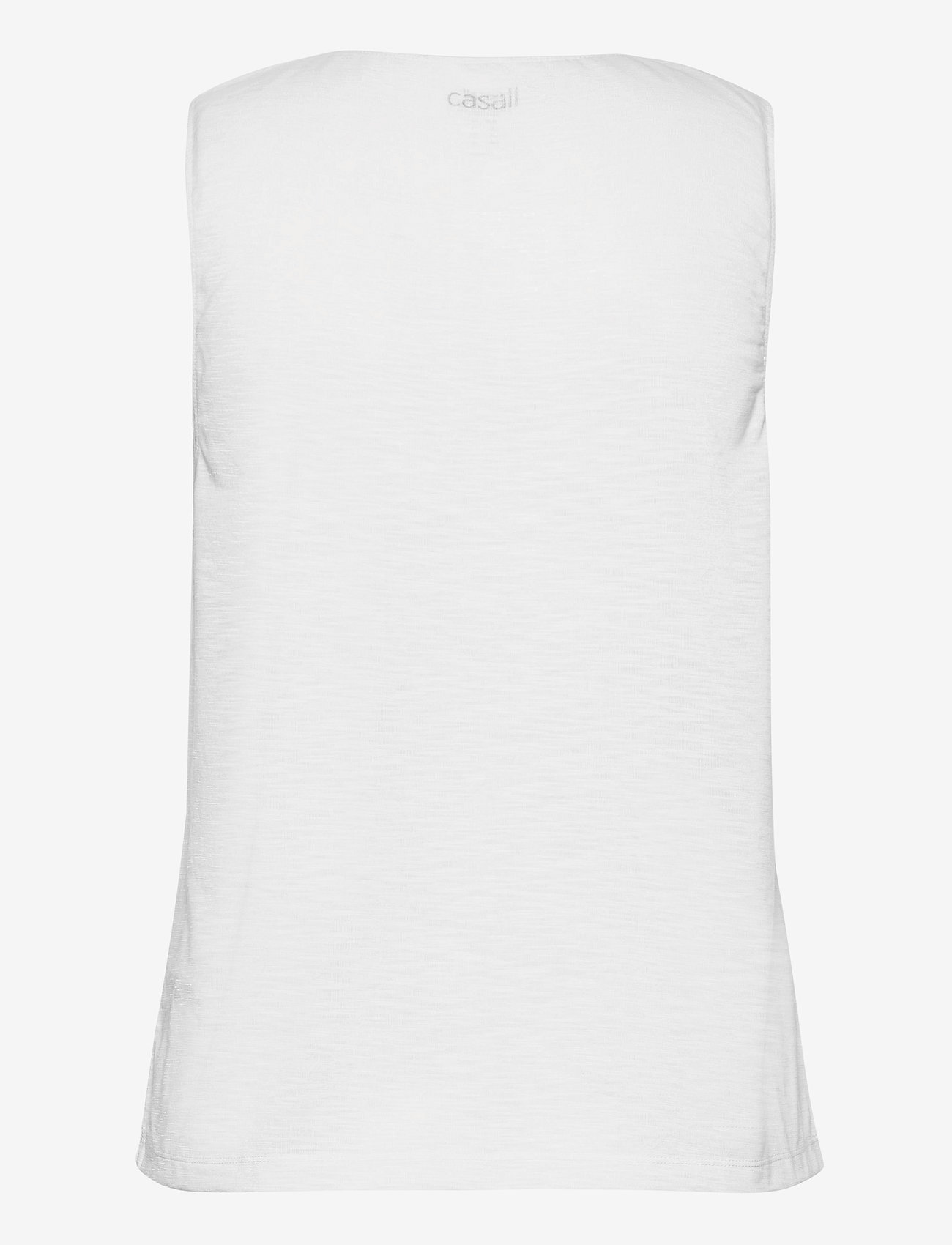 Casall - Texture Tank - podkoszulki bez rękawów - white - 1