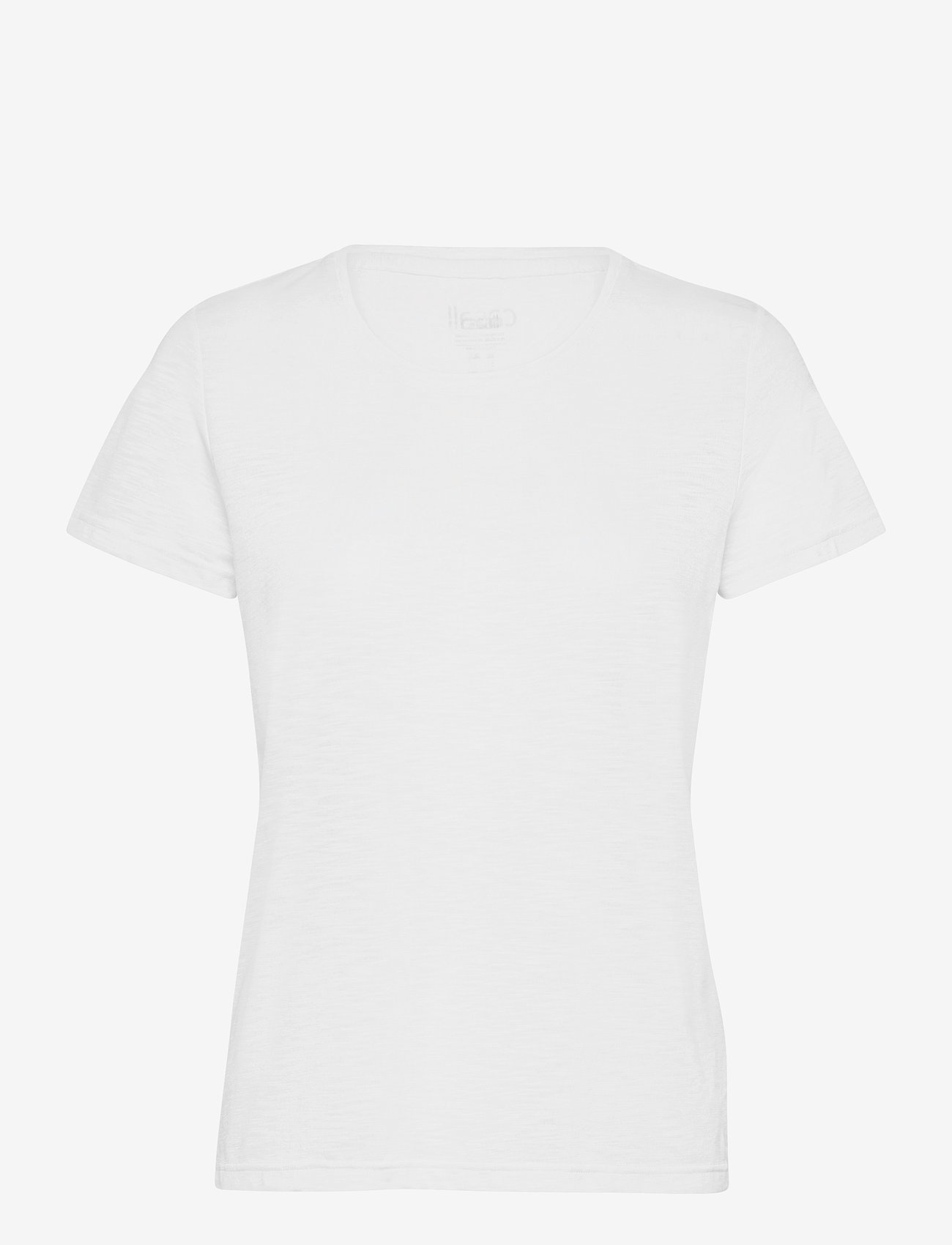 Casall - Texture Tee - t-shirty - white - 0