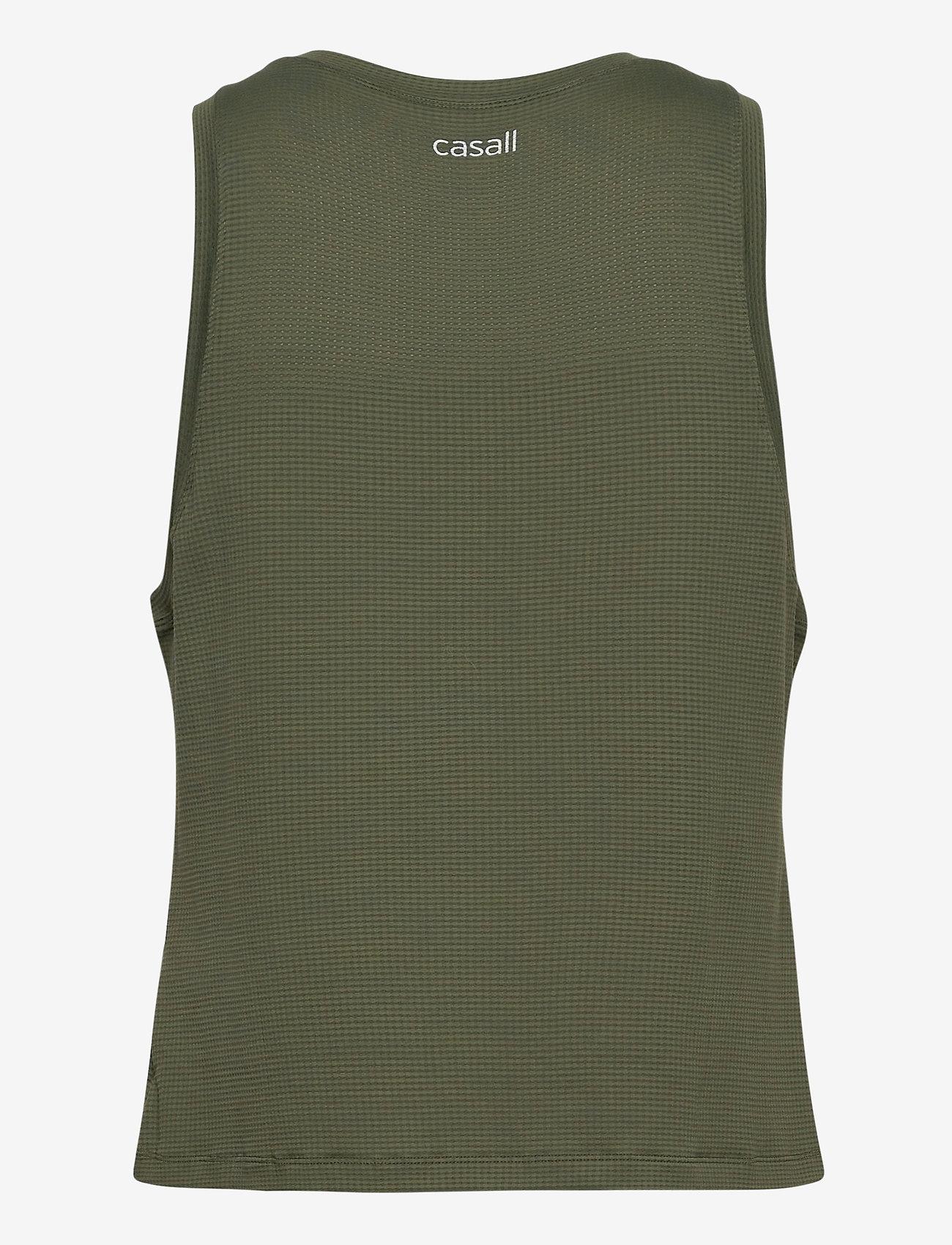 Casall - Iconic Loose Tank - podkoszulki bez rękawów - northern green - 1