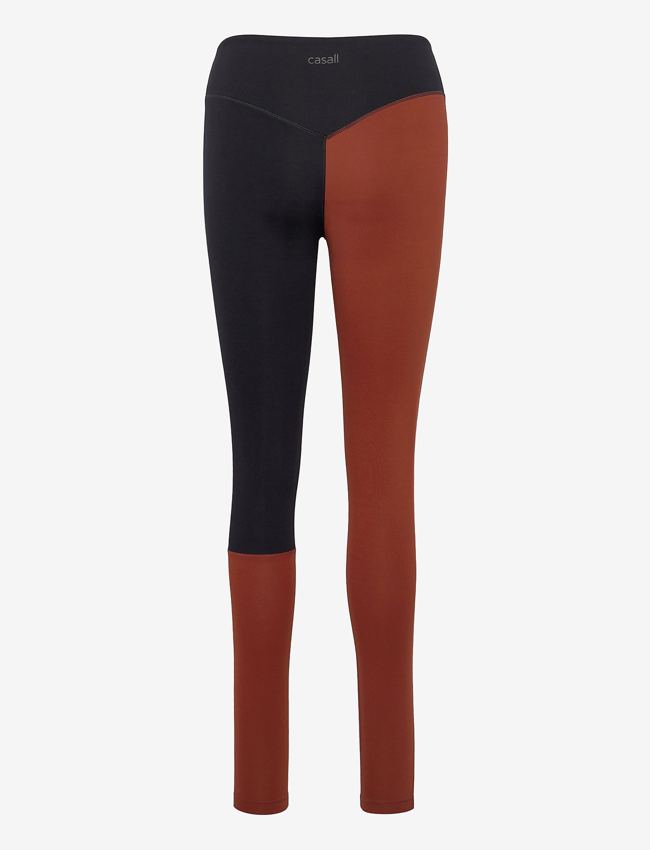 Casall - Block 7/8 Tights - running & training tights - brave brown - 1