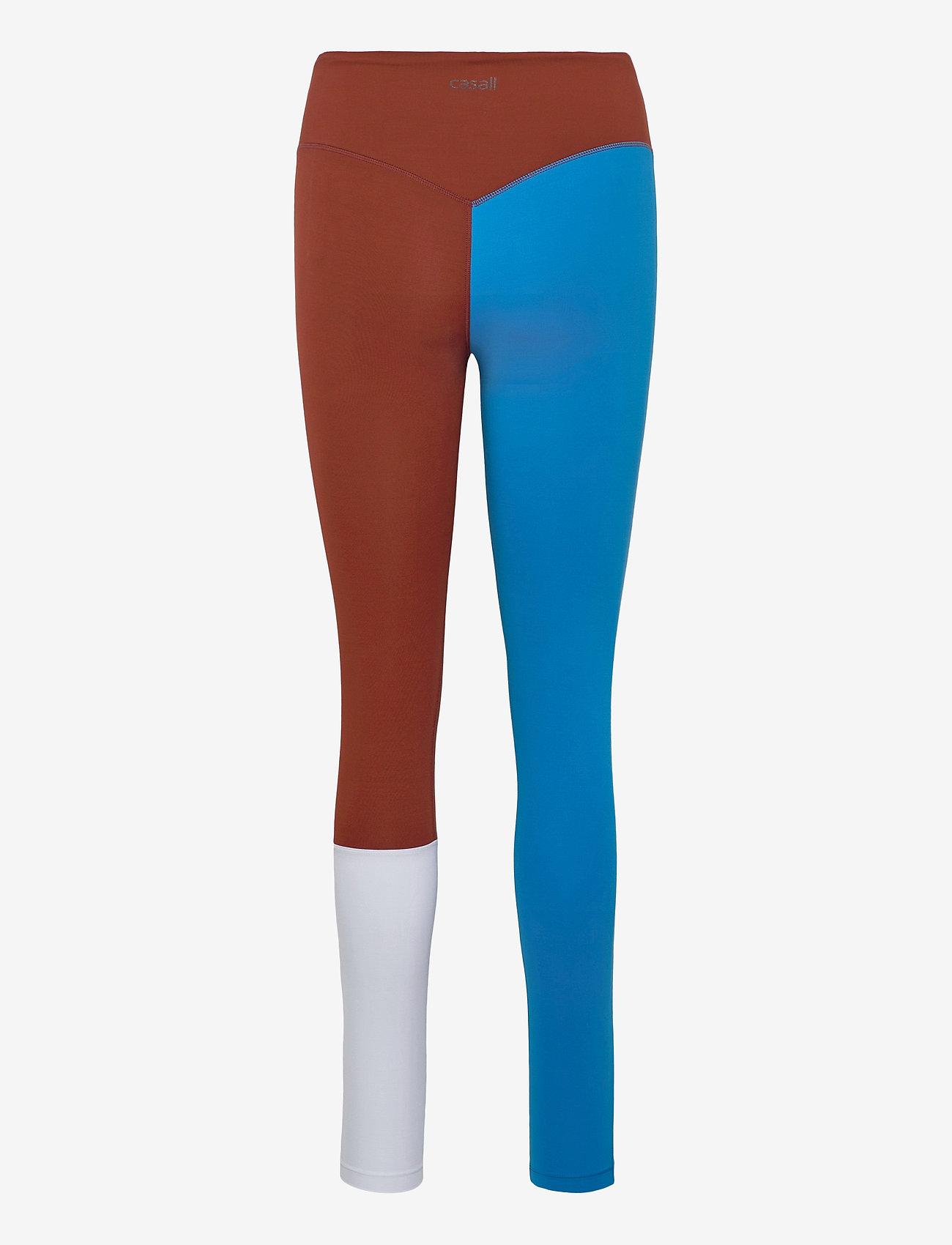Casall - Block 7/8 Tights - running & training tights - fierce blue - 1