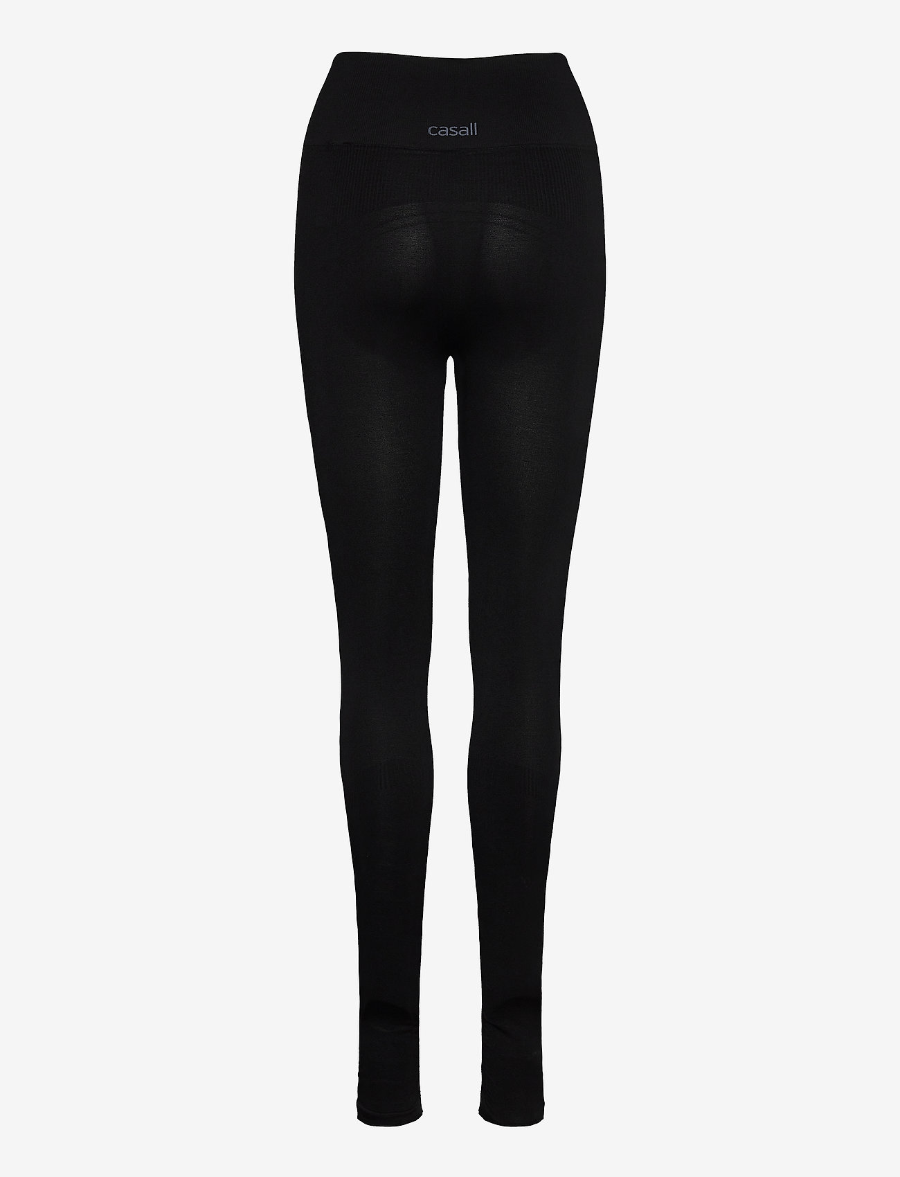 Casall - Classic Seamless Tights - running & training tights - black - 1