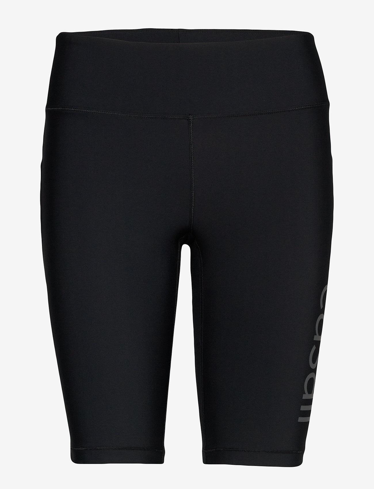 Casall - Croco Logo Biker Tights - spodenki treningowe - black - 0
