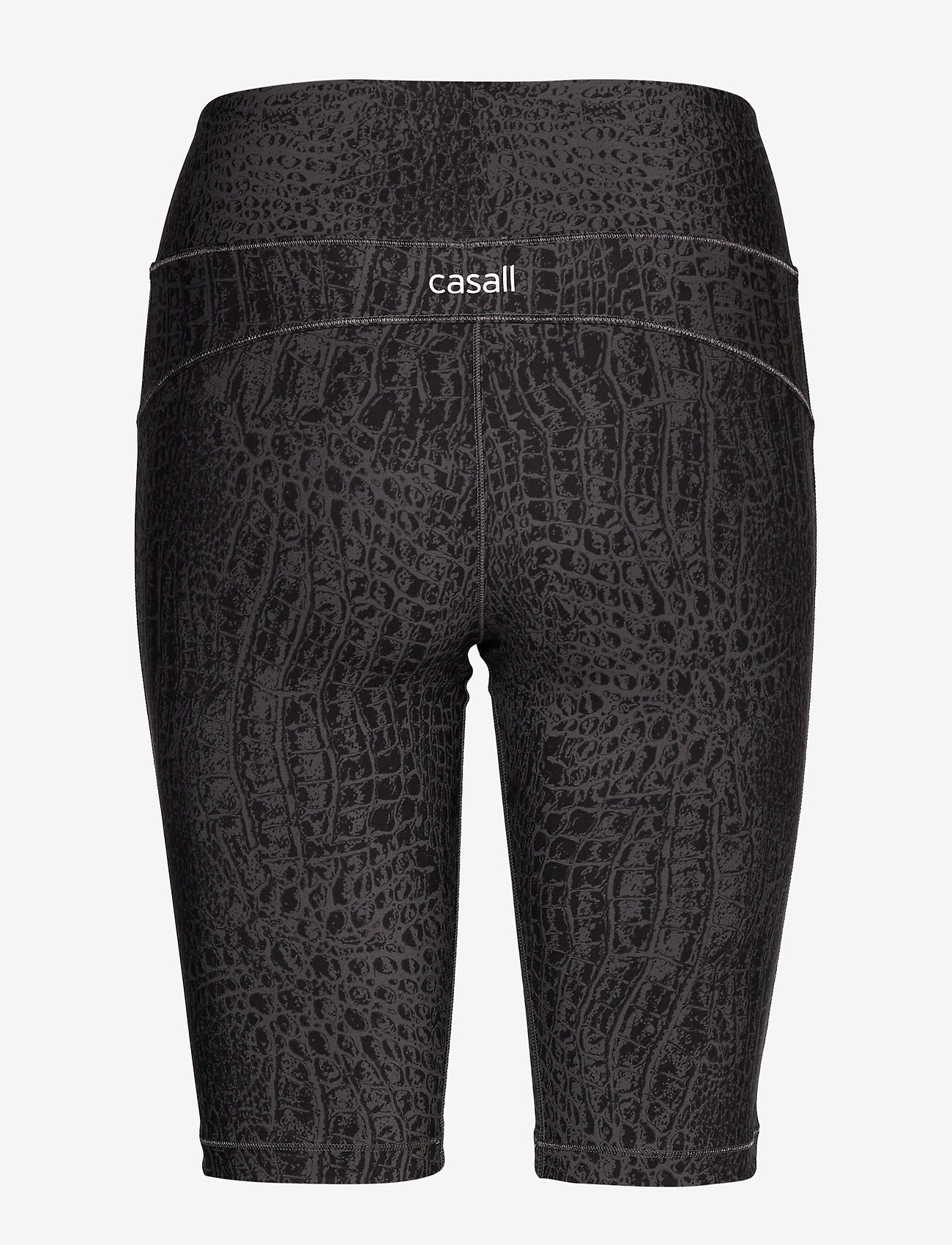 Casall - Croco Biker Tights - träningsshorts - grey croco - 1